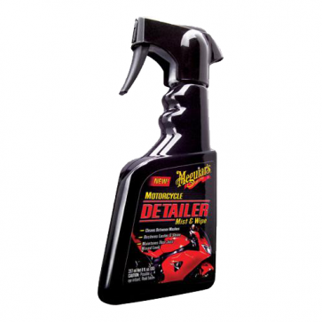 Meguiar's - Motorcycle Detailer Mist & Wipe - 236 ml