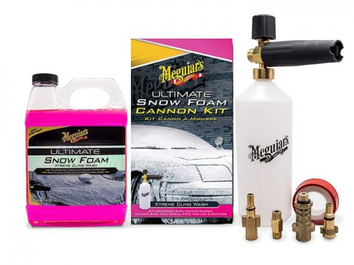 Meguiars - Car wash snow cannon kit