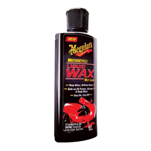 Meguiar's - Motorcycle Liquid Wax Wet Look - 177 ml