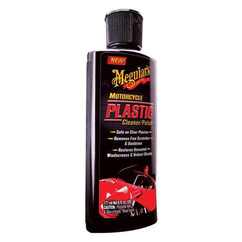 Meguiar's - Motorcycle plastic cleaner / polish - 177 ml